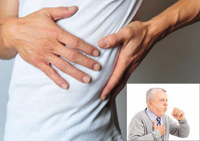 剧烈咳嗽会拉伤肋骨肌肉吗有哪些症状怎么治疗